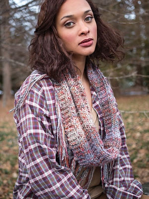 Berroco Lodge Swami Cowl Kit - Scarf and Shawls
