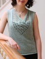 Classic Elite Yarn Silky Alpaca Lace Bonny Tank Kit
