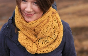 Anzula Squishy Thistle Scarf Kit - Scarf and Shawls