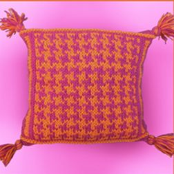 KnitWhits Patterns - Poppy Pillow Pattern
