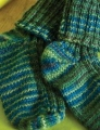 Rowan Fine Art Ribbed Baby Sock Kit