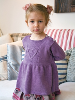 Rowan Wool Cotton 4 Ply Sofie Tunic Kit - Baby and Kids Pullovers