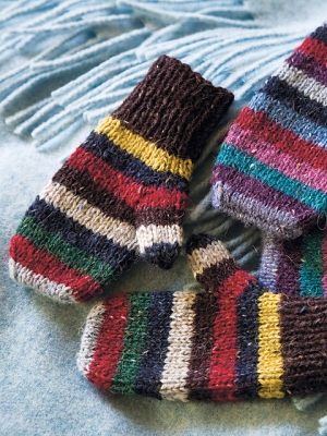 Rowan Felted Tweed Dk Olle Mittens Kit - Hats and Gloves