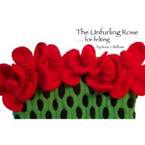Noni Patterns - zThe Unfurling Rose (Discontinued) Pattern
