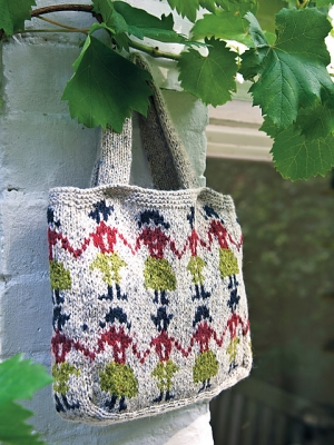 Rowan Felted Tweed Dk Folk Bag Kit - Baby and Kids Accessories