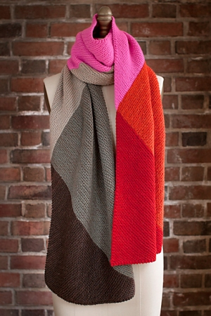 Manos Del Uruguay Silk Blend Mentolat Scarf Kit - Scarf and Shawls