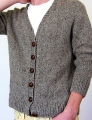 Berroco Blackstone Tweed Antonia/Antonio Cardigan Kit