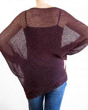 Shibui Knits Linen Belle Pullover Kit - Women's Pullovers