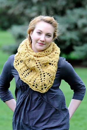 Brown Sheep Burly Spun Pembroke Shawl Kit - Scarf and Shawls