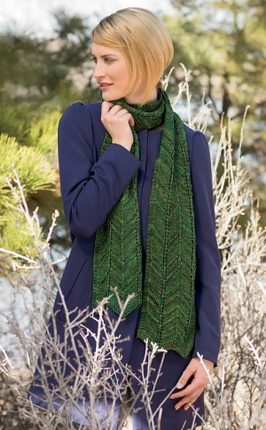 Madelinetosh Tosh Vintage Soldier Canyon Scarf Kit - Scarf and Shawls