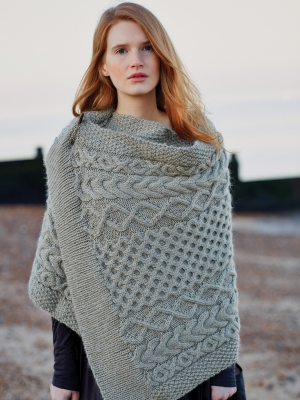 Rowan Cocoon Thyme Wrap Kit - Scarf and Shawls