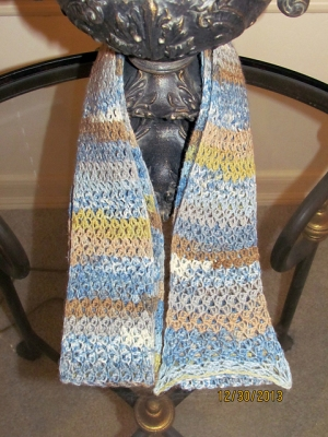 Berroco Comfort Sock JoAnn's Scarf Kit - Crochet for Adults