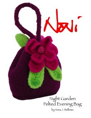 Noni Patterns - Night Garden Felted Evening Bag Pattern