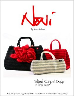 Noni Patterns - Felted Carpet Bags Pattern