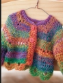 Crystal Palace Sausalito Rainbow Doll Sweater Kit