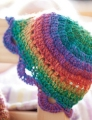 Crystal Palace Sausalito Rainbow Doll Hat Kit