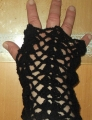 Classic Elite Fresco Autumn Fingerless Gloves