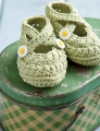 Debbie Bliss Ecobaby A Star Is Born Booties