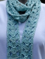 Cascade Yarns Ultra Pima Ice-Cold Summer Scarf Kit