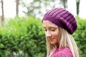 Cascade Ultra Pima Bellisfaire Beanie Kit - Crochet for Adults