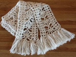 Berroco Ultra Alpaca Fan-Centered Scarf Kit - Crochet for Adults