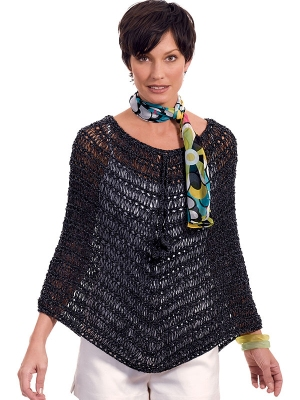 Berroco Fuji Esther Poncho Kit - Women's Accessories