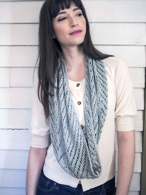 Berroco Linus Align Cowl Kit - Scarf and Shawls