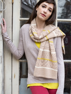 Berroco Cosma To-Ji Scarf  Kit - Scarf and Shawls