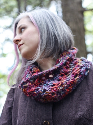Berroco Mojo Michelle Cowl Kit - Scarf and Shawls