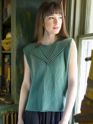Berroco Modern Cotton Admit Pullover Kit - Women's Sleeveless