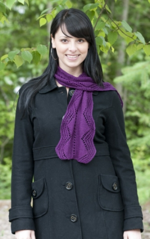 Cascade Heritage Wavy Scarf Kit - Scarf and Shawls