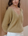 Rowan Kidsilk Haze/Fine Lace Goldie Pullover Kit