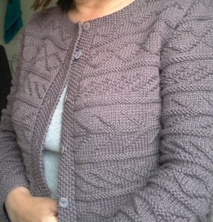 Rowan Softknit Cotton Mia Cardigan Kit - Women's Cardigans