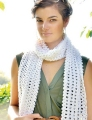 Rowan Pure Linen Candy Scarf Kit