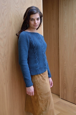 Rowan Handknit Cotton Dylan Pullover Kit - Women's Pullovers