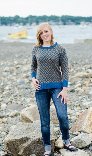 Juniper Moon Farm Tenzing Teesta Pullover Kit - Women's Pullovers