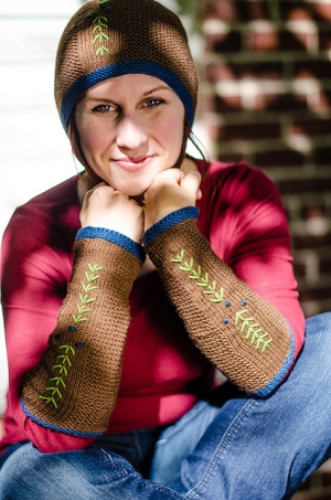 Juniper Moon Farm Tenzing Deodar Arm Warmers Kit - Hats and Gloves