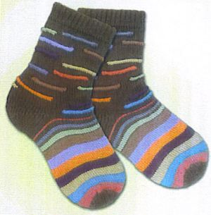 KnitWhits Patterns - Terra Socks Pattern
