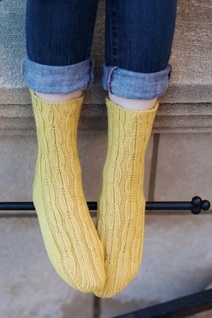 Rowan Pure Wool Conferva Villosa Sock Kit - Socks