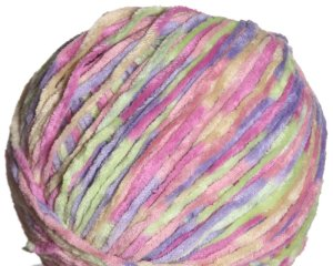 Crystal Palace Cotton Chenille Print Yarn - 409 - Spring Picnic