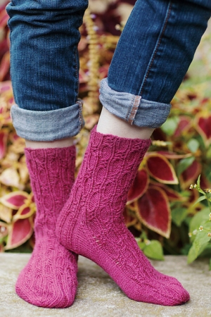 Shibui Knits Staccato Serpula Contortuplicata Sock Kit - Socks