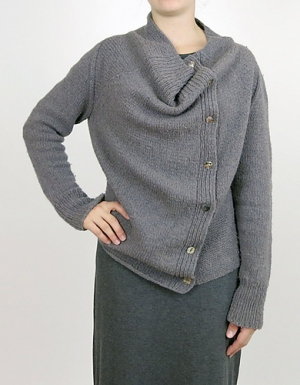 Isager Tweed Ardyth Cardigan Kit - Women's Cardigans