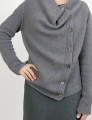 Isager Tweed Ardyth Cardigan Kit