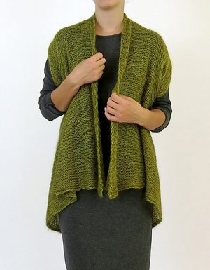 Shibui Linen/Silk Cloud Cocoon Wrap Kit - Scarf and Shawls