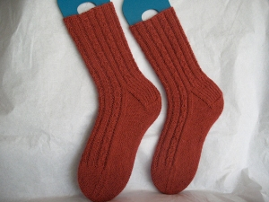 Classic Elite Alpaca Sox Hourglass Rib Socks Kit - Socks