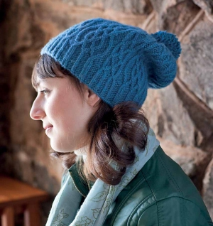 Plymouth Cashmere Passion Vorderrhein Hat Kit - Hats and Gloves