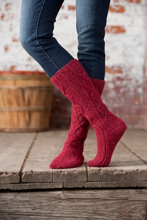 Rowan Felted Tweed DK McIntosh Boot Socks Kit - Socks