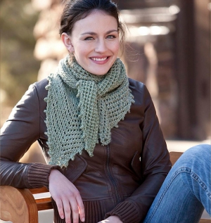 Debbie Bliss Cashmerino Aran Madeleine Shawl Kit - Scarf and Shawls