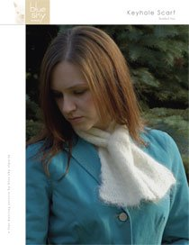 Blue Sky Alpacas Brushed Suri Keyhole Scarf Kit - Scarf and Shawls