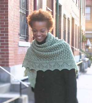 Fibra Natura Whisper Lace Ene's Scarf Kit - Scarf and Shawls